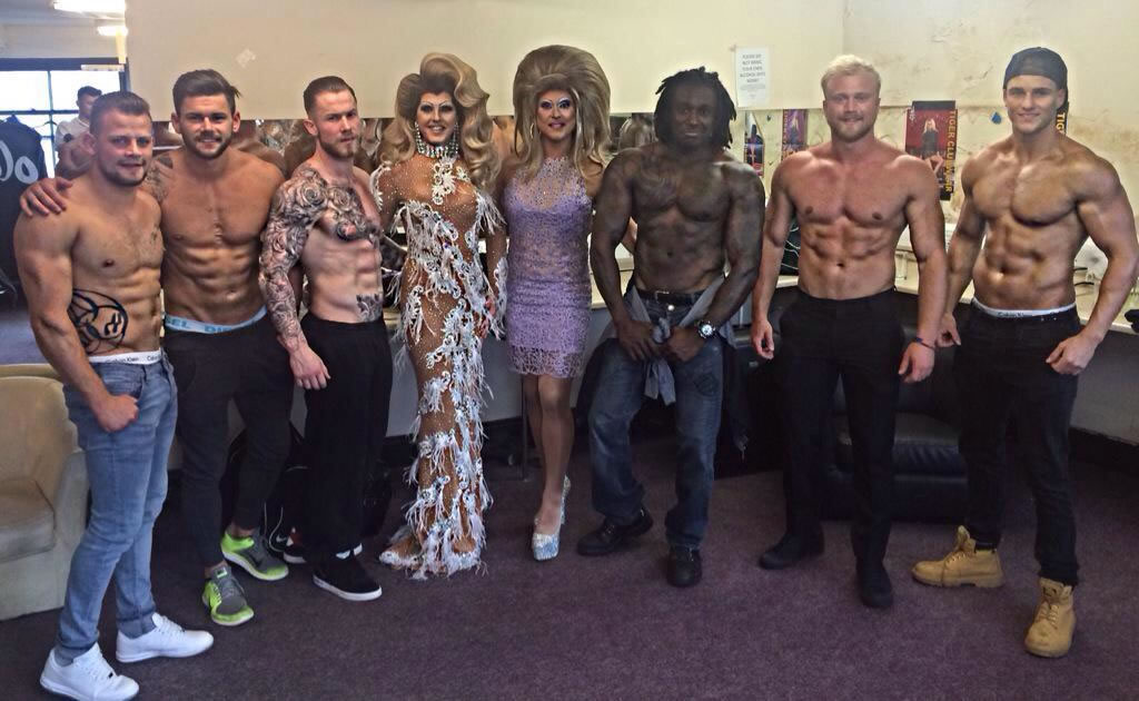 Pic of dreamboys in newcastle